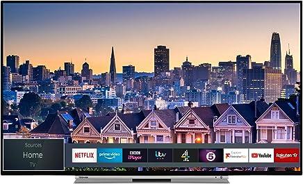Toshiba Smart 4K Ultra-HD HDR 液晶电视 - Chrome 黑色 43-Inch 43UL5A63DB