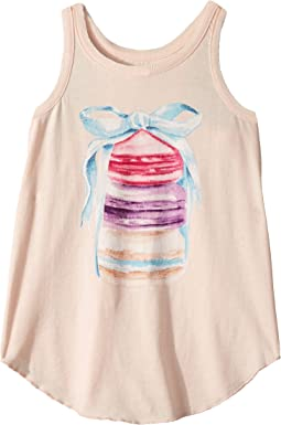 Super Soft Vintage Jersey Shirttail Racer Tank (Little Kids/Big Kids)