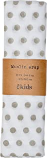 ES Kids Muslin Wrap Dot, Grey