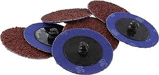 ABN Aluminum Oxide Roloc Abrasive Sanding Discs 50-Pack, 2in, 36 Grit – Metal Wheels..