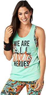 Zumba Gym Athletic Shirt Loose Tank Tops for Women Workout Muscle Tank for Women