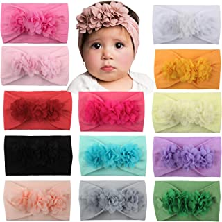 Baby New born Dots Hair band Head band Stripe Candy Color...