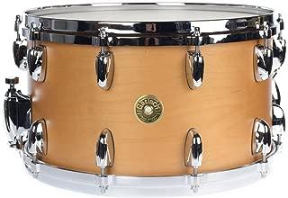 Gretsch 8x14 USA Custom Maple 10 Lug Snare Drum Millenium Maple Gloss Lacquer
