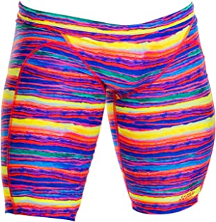 Funky Trunks Male Training Jammer - Crystal Wave