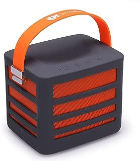 Proxelle Surgepower-Orange Portable Wireless Bluetooth Speaker with Built-in Power Bank Plus 2 USB Ports, Get Epic Audio Wherever You Go, Orange