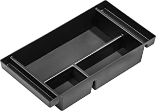 Vehicle OCD - Center Console Organizer Tray for Chevy Silverado 1500 / GMC Sierra 1500 (2019-2020) and 2500/3500 HD (2020) (Full Console w/Bucket Seats ONLY) - Made in USA
