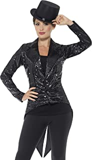 sequin tailcoat costume