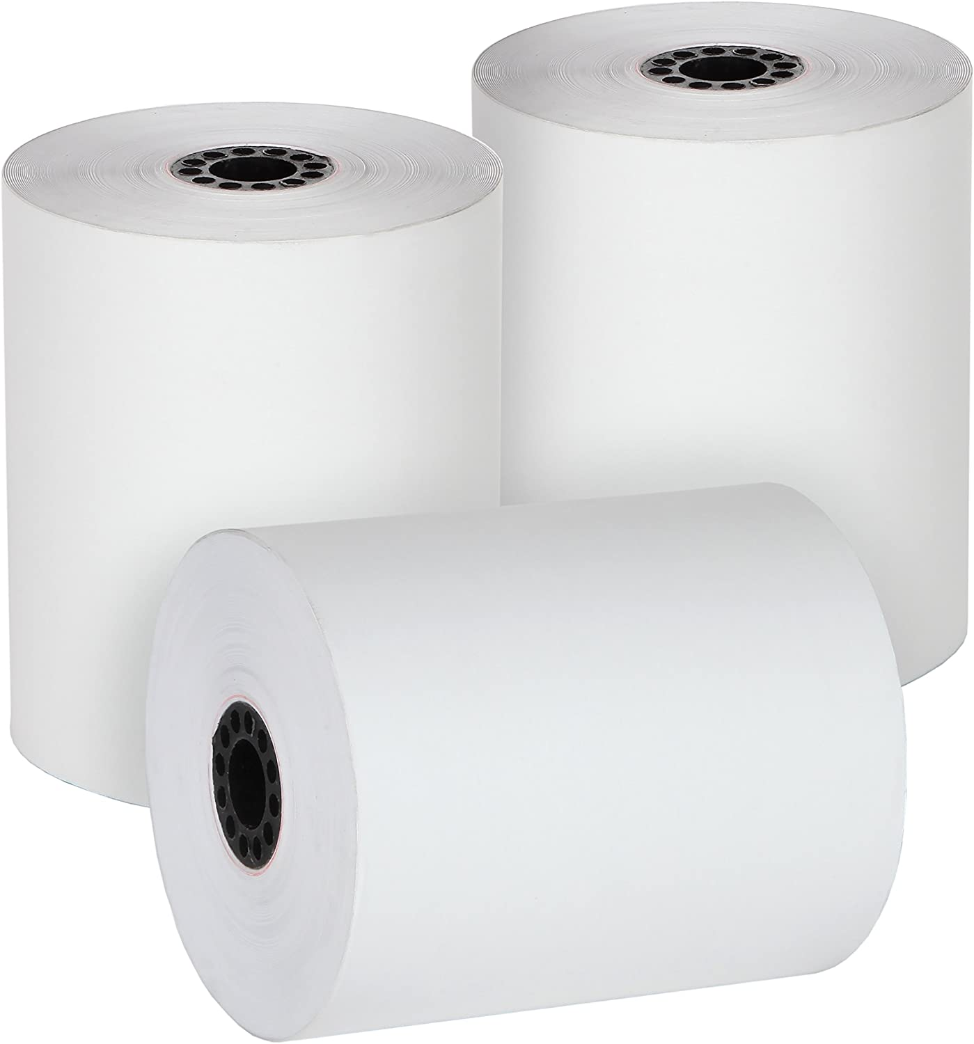 """FHS Retail Thermal Cash Register POS Paper Rolls 3 1/8"""" x 230' MADE IN USA - BPA Free (32 Pack) : Office Products"""