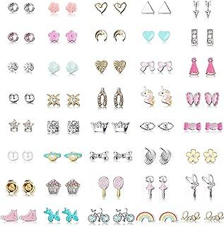 Best little girl stud earrings Reviews