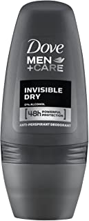 Dove Men+Care Invisible Dry Deo Roll-On, 1 opakowanie (1 x 50 ml)