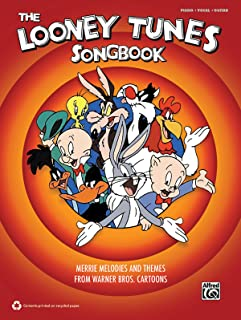 The Looney Tunes Songbook: Merrie Melodies and Themes from Warner Brothers Cartoons (Piano/Vocal/Guitar)