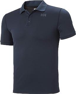 Polo d;/ét/é Classique pour Homme Helly Hansen Polo KOS pour Homme Tissu /à Dry Rapide Gris Brouillard Dry Rapide