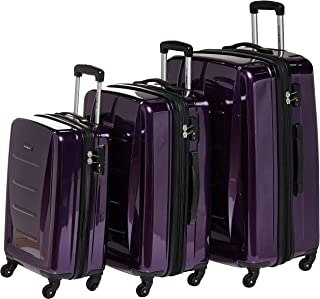 Samsonite Winfield 2 Fashion 3-Piece Hardside Luggage Sets, Purple, 71 56847-1717