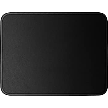 1 Mouse Pad with Stitched Edges, Premium Waterproof Mouse Mat, Extends The Battery Life Non-Slip Rubber Base Gaming Mouse pad for Laptop, Computer & PC, 11 x 8.7 inches (1 Pack)