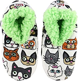 Image of A Customer Favorite: Cattitude Cat Slippers for Women