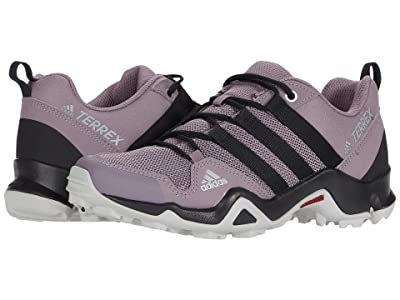 adidas Outdoor Kids Terrex AX2R (Little Kid/Big Kid) (Tech Purple/Black/Shock Red) Girls Shoes