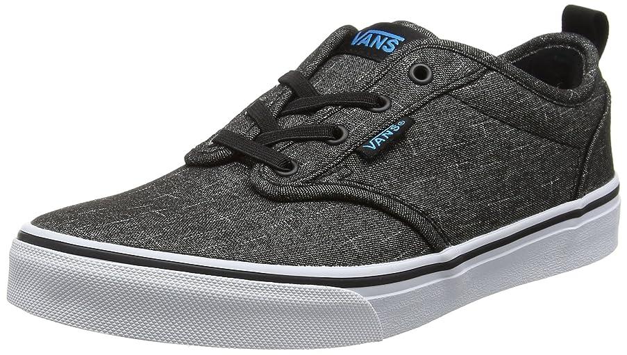 Vans Atwood Slip-On (Textile) Little Kids Style: VN0004LM-FN8 Size: 7 Black/Hawaiian Ocean