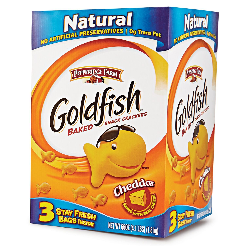 Pepperidge Popular overseas Farm Very popular Goldfish box Cheddar 66-ounce
