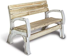 Explore resin benches for outdoors