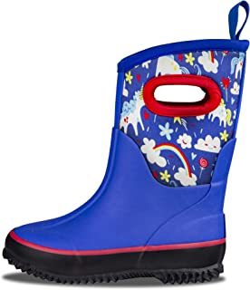 All Weather MudBoots for Toddlers and Kids - Neoprene Boots for Rain, Muck, Snow