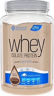 Integrated Supplements Whey Isolate Protein, Premium Flavor Chocolate, 1 Count