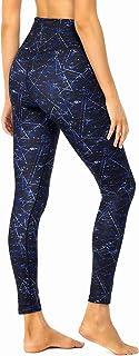 QUEENIEKE Femmes Leggings Pantalons de Yoga Entraînement Course Ligne de Fesses de Pêche