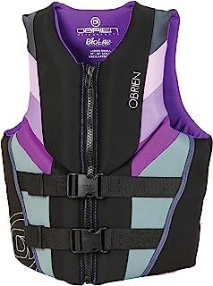 O'Brien 2020 Focus (Black/Aqua) Women's CGA Life Jacket