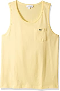 Lacoste Men's Tank Heavy Jersey Solid T-Shirt