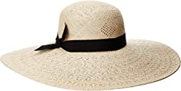 Pointelle Sun Hat with Bow
