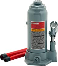 Pro-Lift B-006D Grey Hydraulic Bottle Jack – 6 Ton Capacity