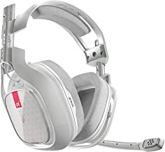 ASTRO Gaming A40 TR Gaming Headset for PC, Mac- White (Renewed)