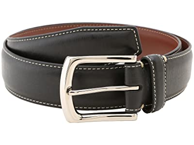 Torino Leather Co. 35MM Burnished Tumbled (Black) Men
