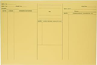 Quality Park 89701 Quality Park Attorney's Envelopes, Ungummed, 10x14-3/4, Heavy Cameo Buff,100/Bx