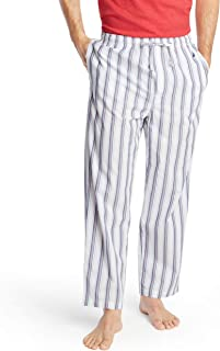 Men's Soft Woven 100% Cotton Elastic Waistband Sleep Pajama Pant