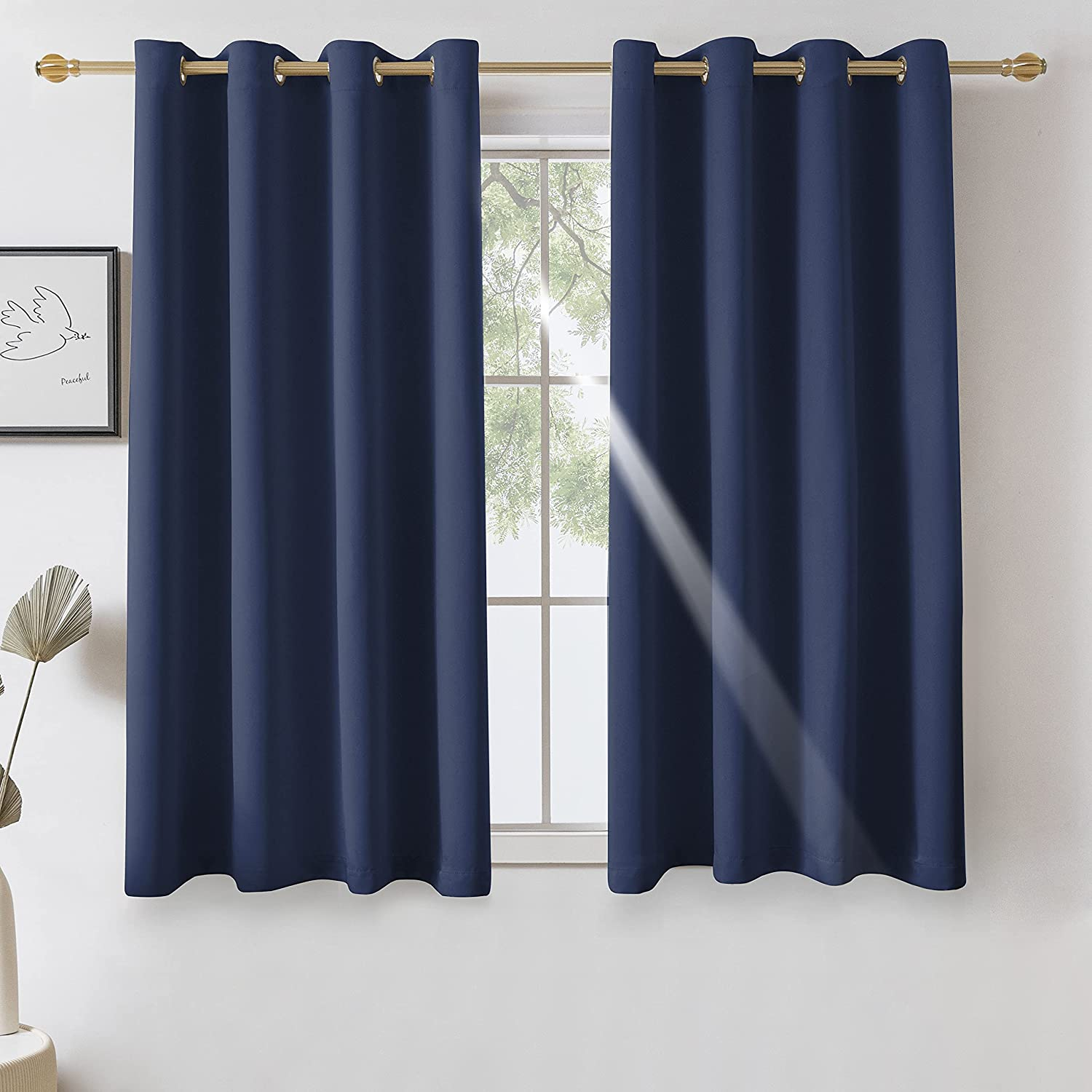 VANASEE Blackout Curtains for Bedroom Grommet Insulate Thermal Milwaukee Mall - Ranking TOP1