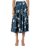 ML Monique Lhuillier - Midi Printed Skirt