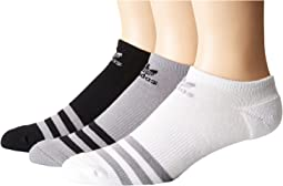 Originals Roller No Show Sock 3-Pack