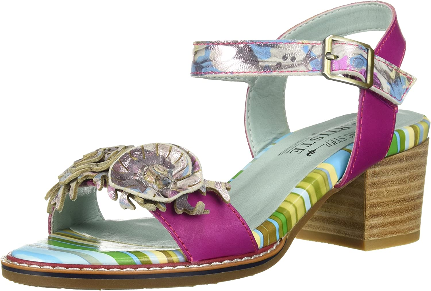 L'Artiste by Spring Step Womens Aradya Sandals