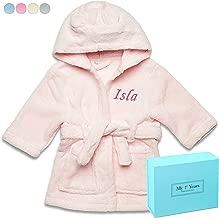 Personalized Robe for Baby & Toddler + Custom Monogram & Gift Box