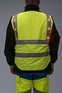 lighted safety vest