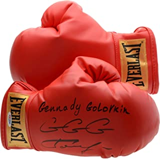 Gennady Golovkin Autographed Boxing Glove with