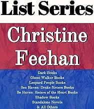 CHRISTINE FEEHAN: SERIES READING ORDER: GHOST WALKER BOOKS, DARK BOOKS, LEOPARD PEOPLE BOOKS, SEA HAVEN SERIES, SHADOW BOOKS, STANDALONE NOVELS, SHORT STORIES BY CHRISTINE FEEHAN