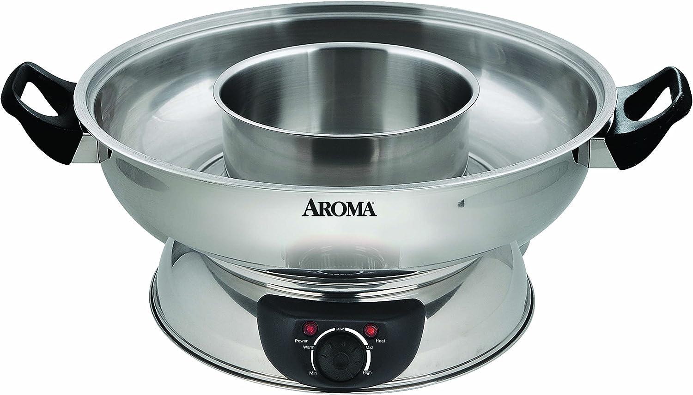 Aroma ASP-600 Stainless Steel Hot Pot $50.85 Coupon
