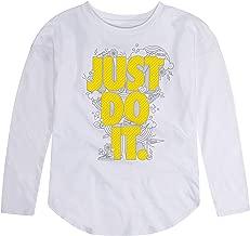 NIKE Children's Apparel Girls' Long Sleeve JDI Graphic T-Shirt