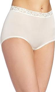 Wacoal Women's Bodysuede Lace Waist Brief Panty