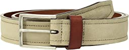 Johnston & Murphy - Suede & Leather Loop Belt