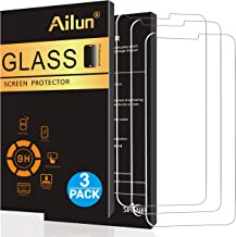 AILUN Screen Protector for LG G6 3 Pack Tempered Glass 9H Hardness 2.5D Edge Ultra Clear Transparency Anti Scratches Case Friendly Siania Retail Package