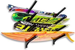 Nice Rack Quad Surfboard Wall Rack - (Four Boards)
