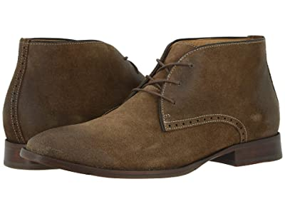 Johnston & Murphy McClain Chukka (Taupe Water-Resistant Suede) Men
