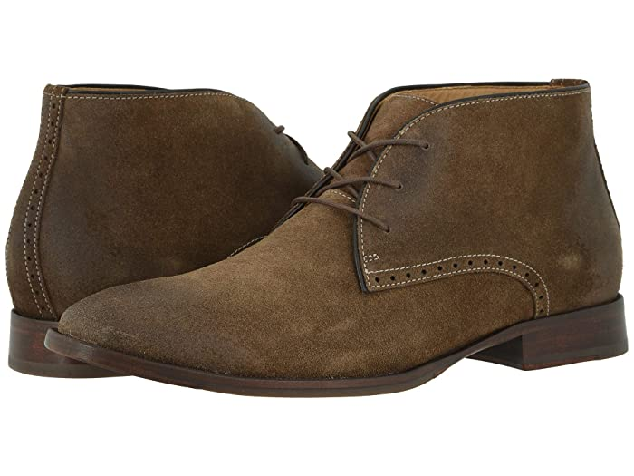 Johnston and Murphy  McClain Chukka (Taupe Water-Resistant Suede) Mens Boots